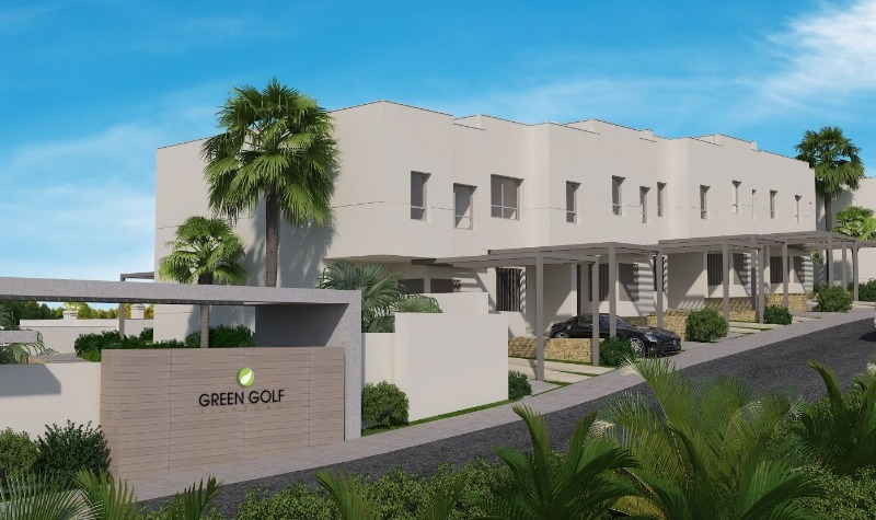 Luxury front line golf town houses in a new development Estepona Golf nearly 50% sold