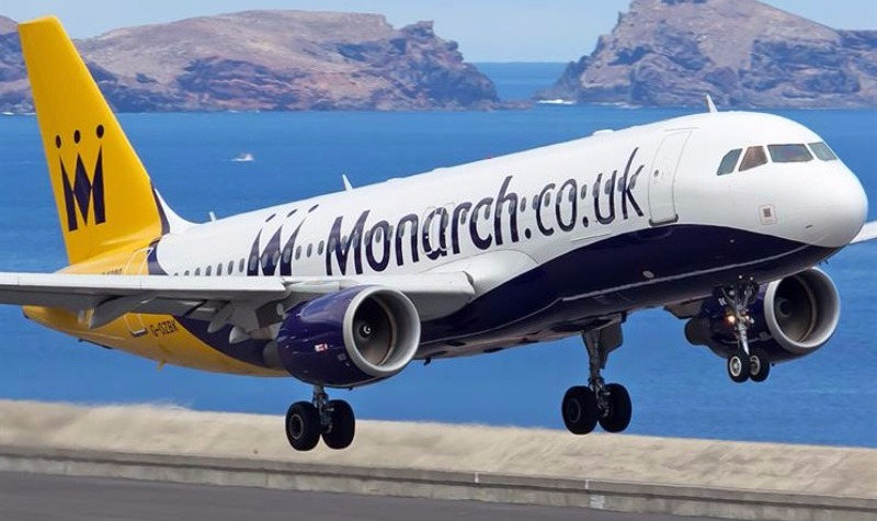 Monarch airlines cease trading